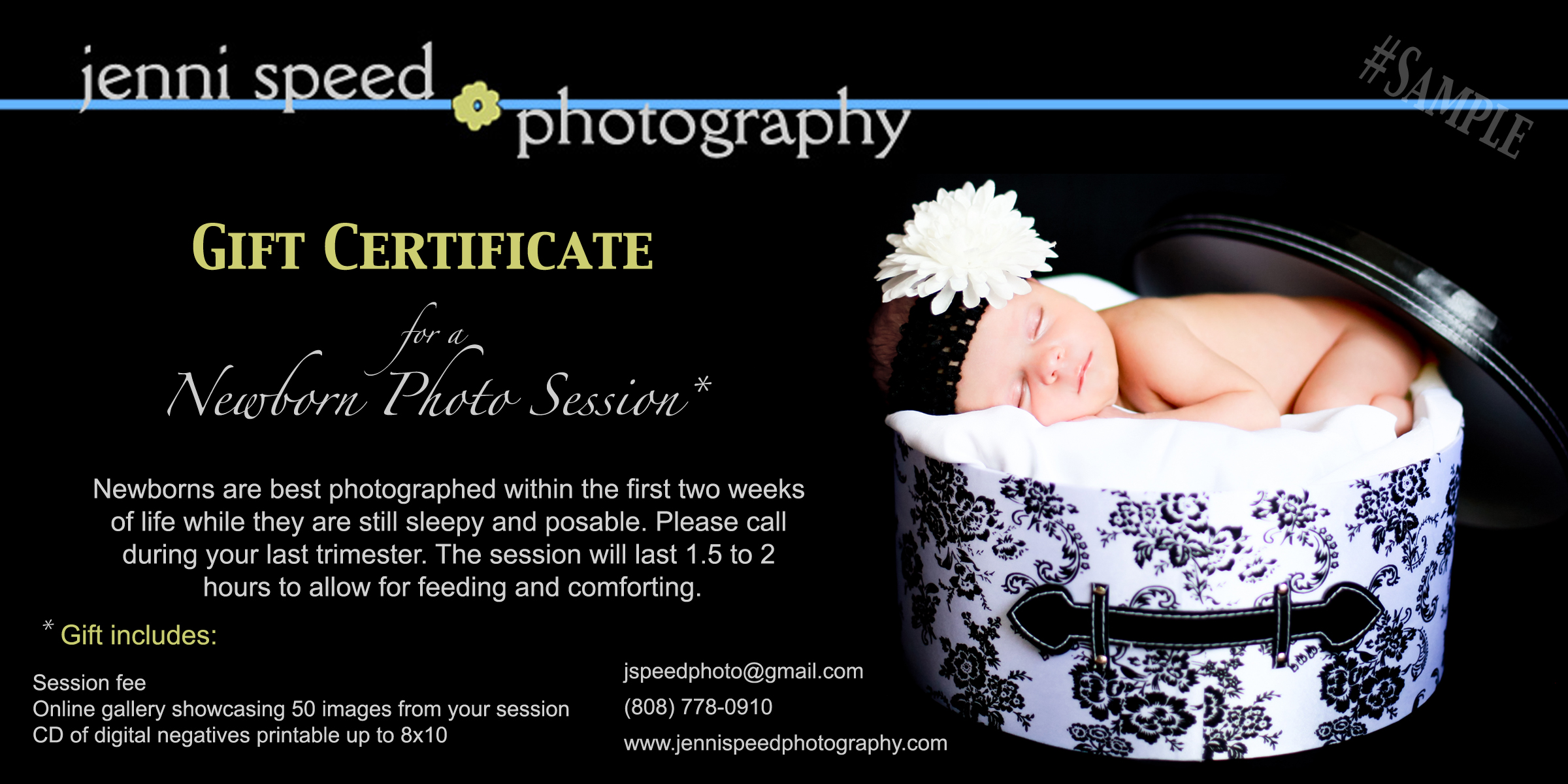 gift certificate sample nb jenni speed photography gift certificate sample nb